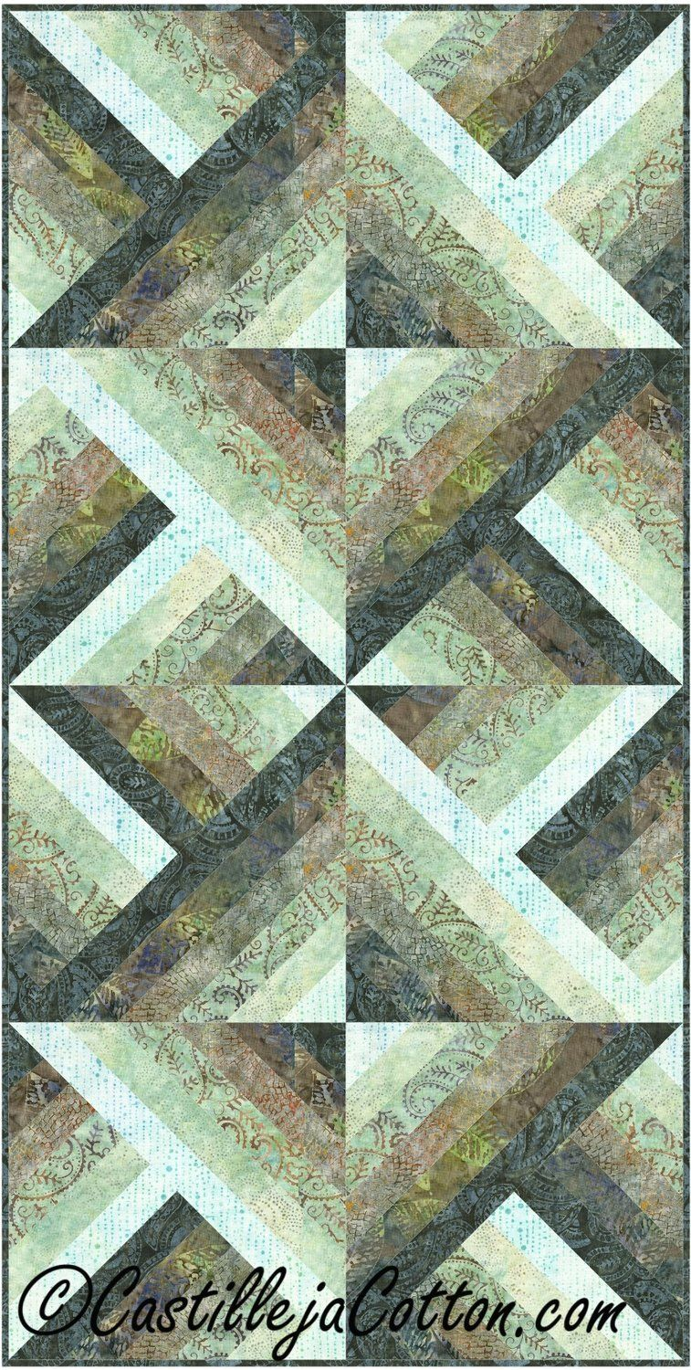 Six Pack Chevron Quilt Pattern - Tonga Spa Day #lapquiltpattern  #timelesstreasurestongaspaday