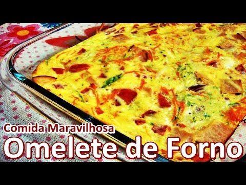 Omelete de Forno│Comida Maravilhosa #69
