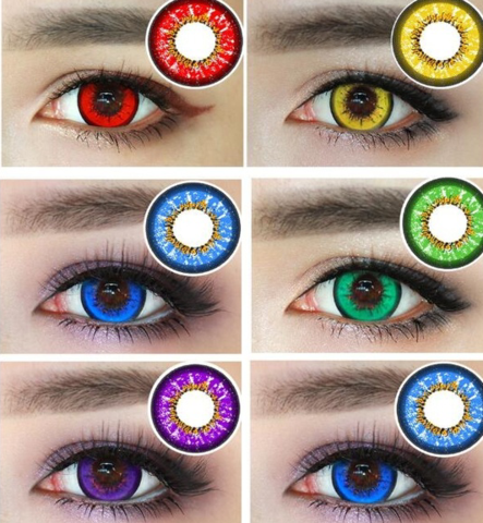 color contact lens fast shipping halloween contacts pinterest