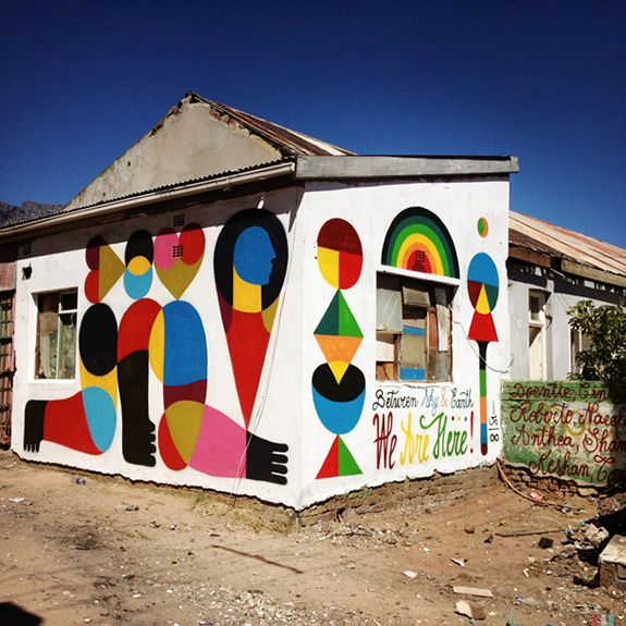 Remed New Mural In Cape Town