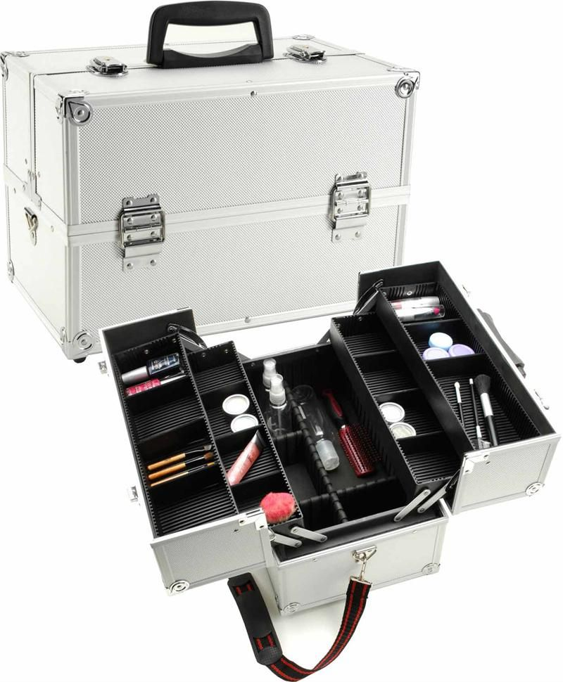 Fantasy Collection Makeup Artists Cosmetics Train Case - Black ...