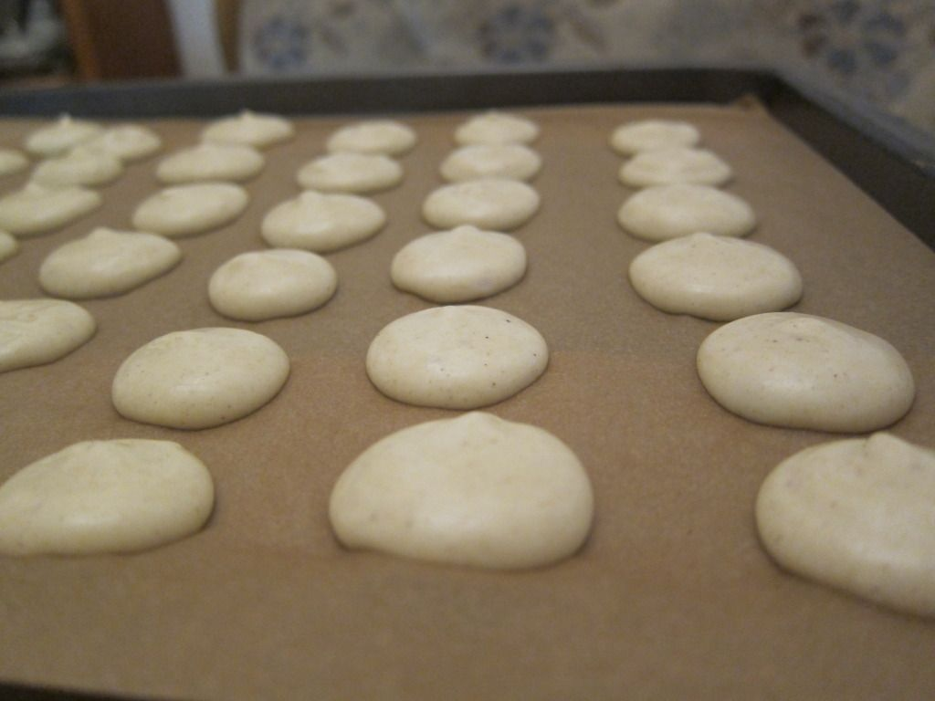Christina does what: Cookie Time: aniseed cookies (a cap on too!)