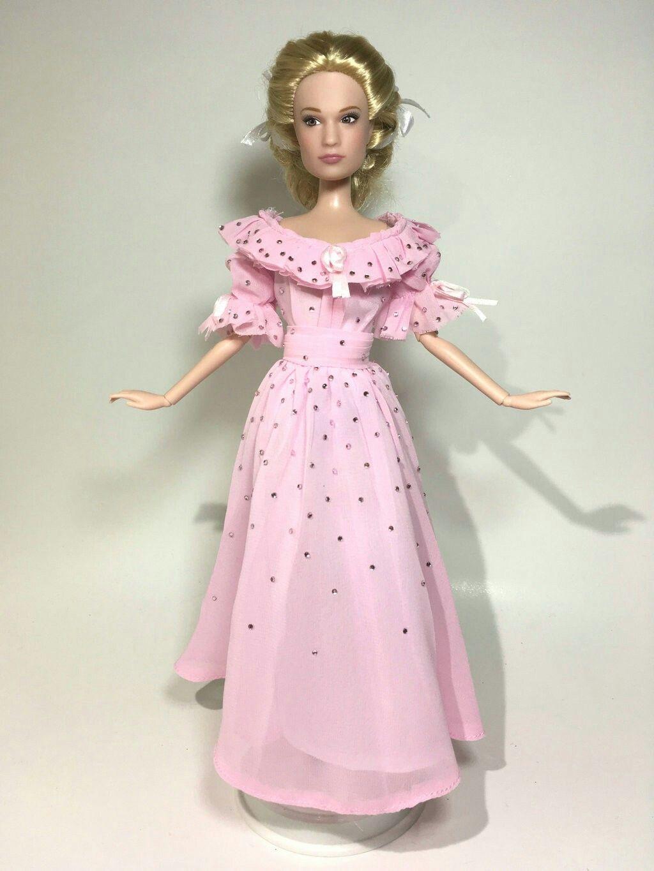 Disney Cinderella 2015 Ella Pink Dress OOAK Doll by BLUE-s-DOLLS ...