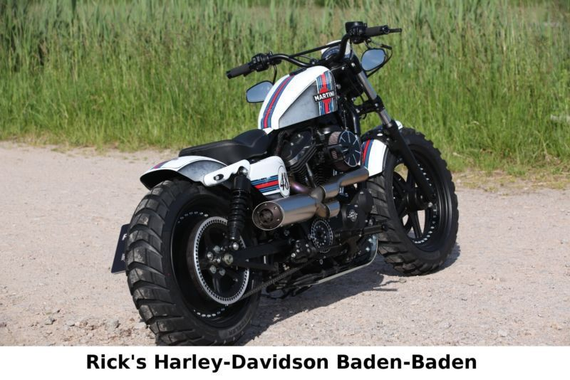 Harley Davidson Sportster XL1200X Forty Eight 48 Ricks Als Chopper Cruiser In Baden