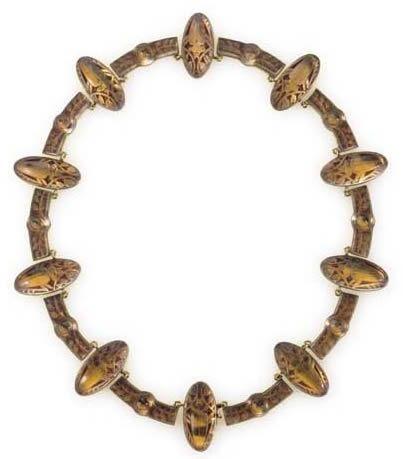 R. Lalique Scarabees Necklace