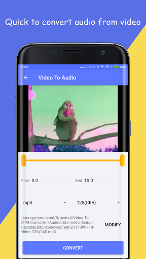 video to mp3 converter for android