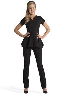 Florence roby beauty uniforms beauty tunics salon wear for Spa nagoya uniform