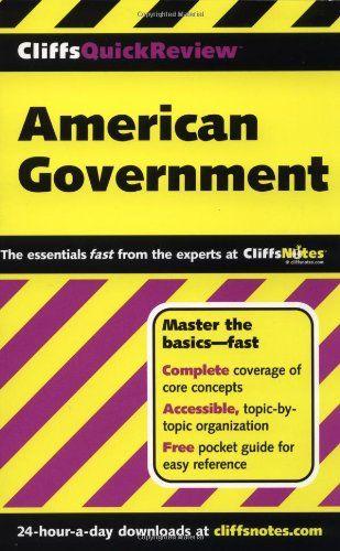 Cliffsquickreview American Government D Stephen Voss Abraham Hoffman Paul Soifer 9780764563720 Amazon Com Books Algebra I Math Word Problems Basic Math