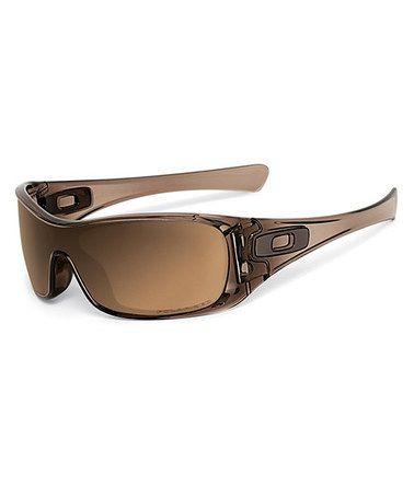 bad912dbcdd Another great find on  zulily! Antix Brown Smoke   Tungsten Iridescent Polarized  Sunglasses  zulilyfinds  oakley