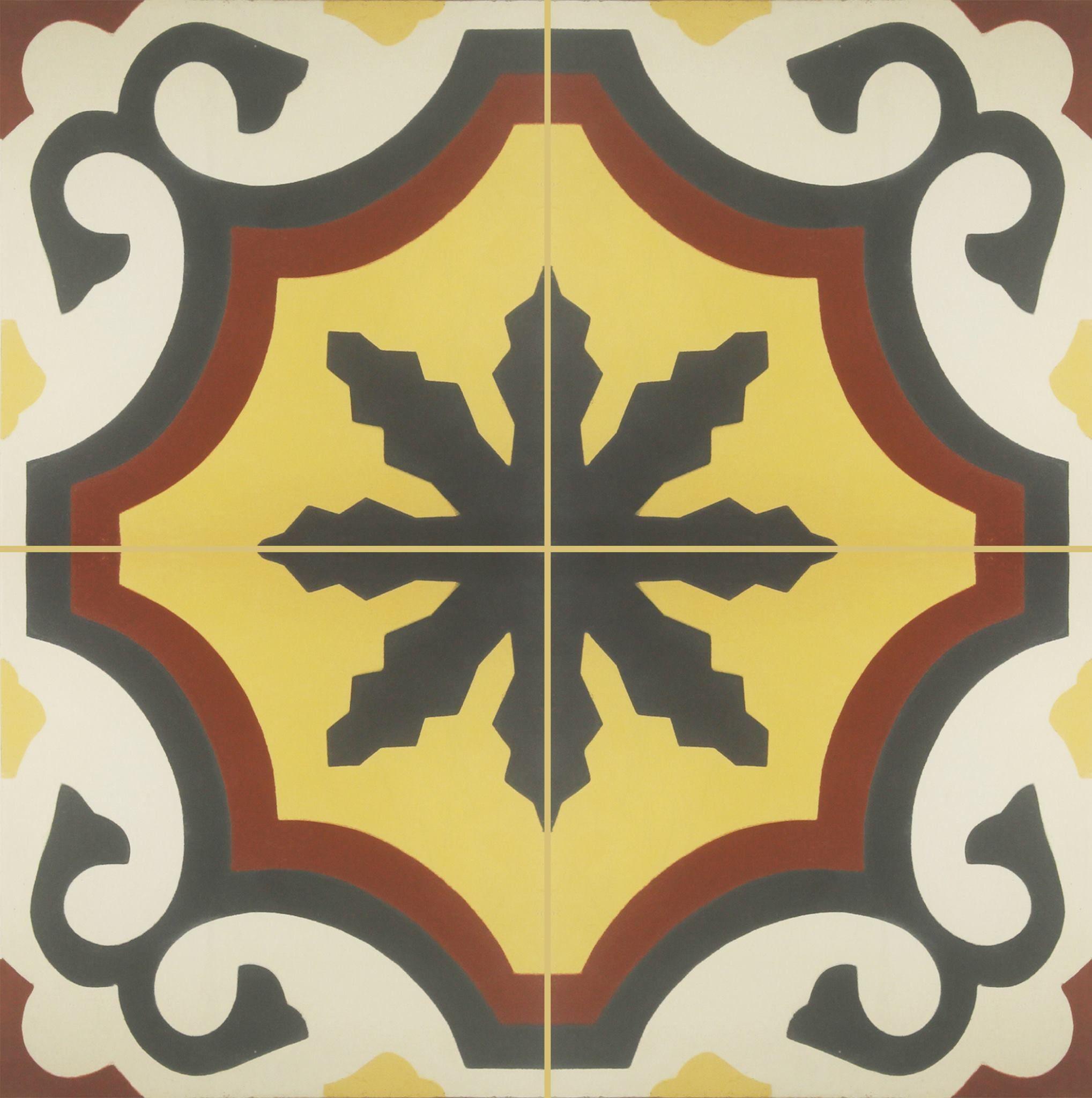 El arte de unir peque os fragmentos geom tricos en un - Colores de baldosas ...