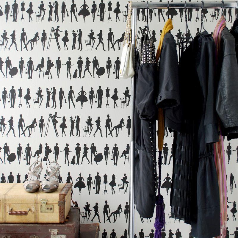 die besten 25 schicke tapete ideen auf pinterest. Black Bedroom Furniture Sets. Home Design Ideas