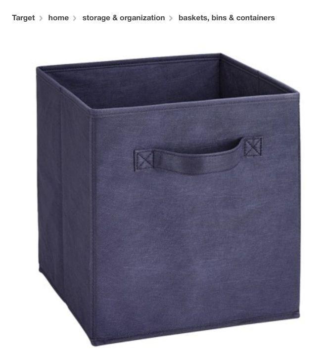 navy storage bins Navy storage bins Target Storage Containers