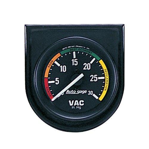 Autometer 2337 Autogage Vacuum Gauge Panel