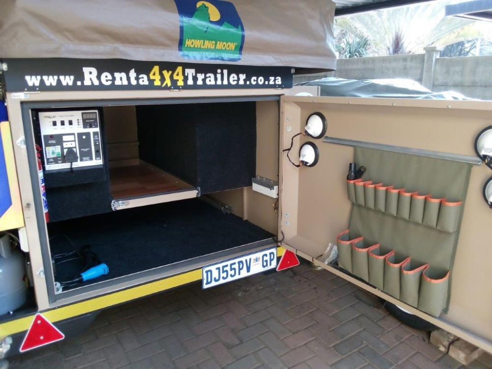 Wildebeest Executive Off Road Trailer Rent A 4x4 Trailer Roof Top Tent Add A Room Wildebeest