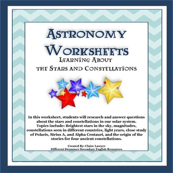 astronomy worksheets learning about stars and constellations solar system constellation and. Black Bedroom Furniture Sets. Home Design Ideas