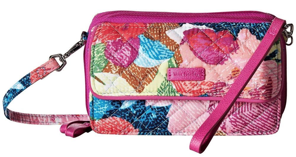 Vera Bradley Iconic RFID All in One Crossbody in Superbloom, New 2018  Collection  VeraBradley  Crossbody 8aba22edef