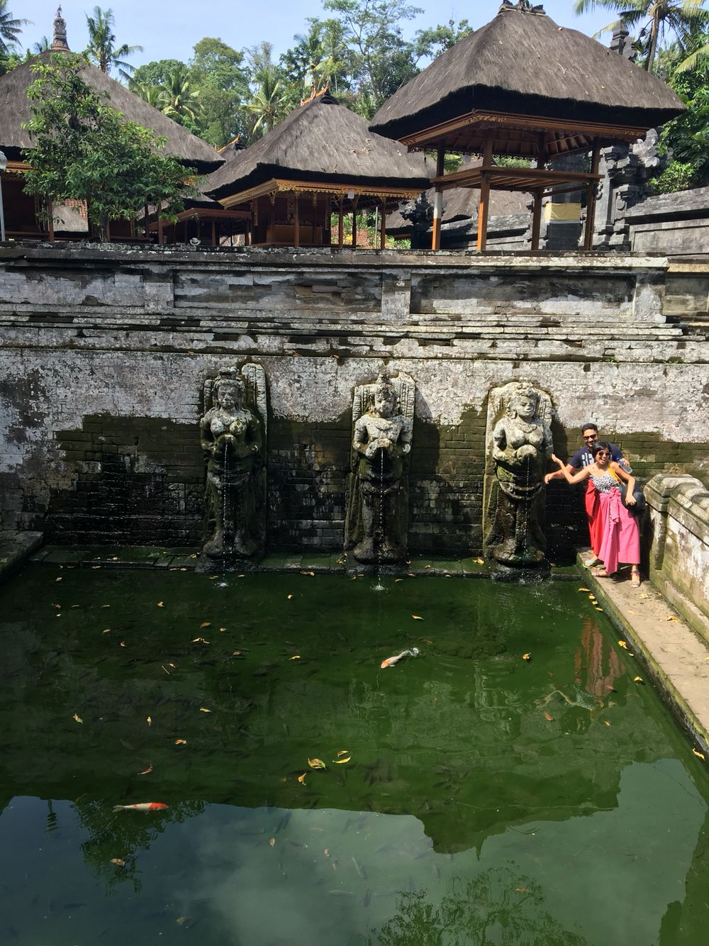 The famous Elephant Temple in Ubud.