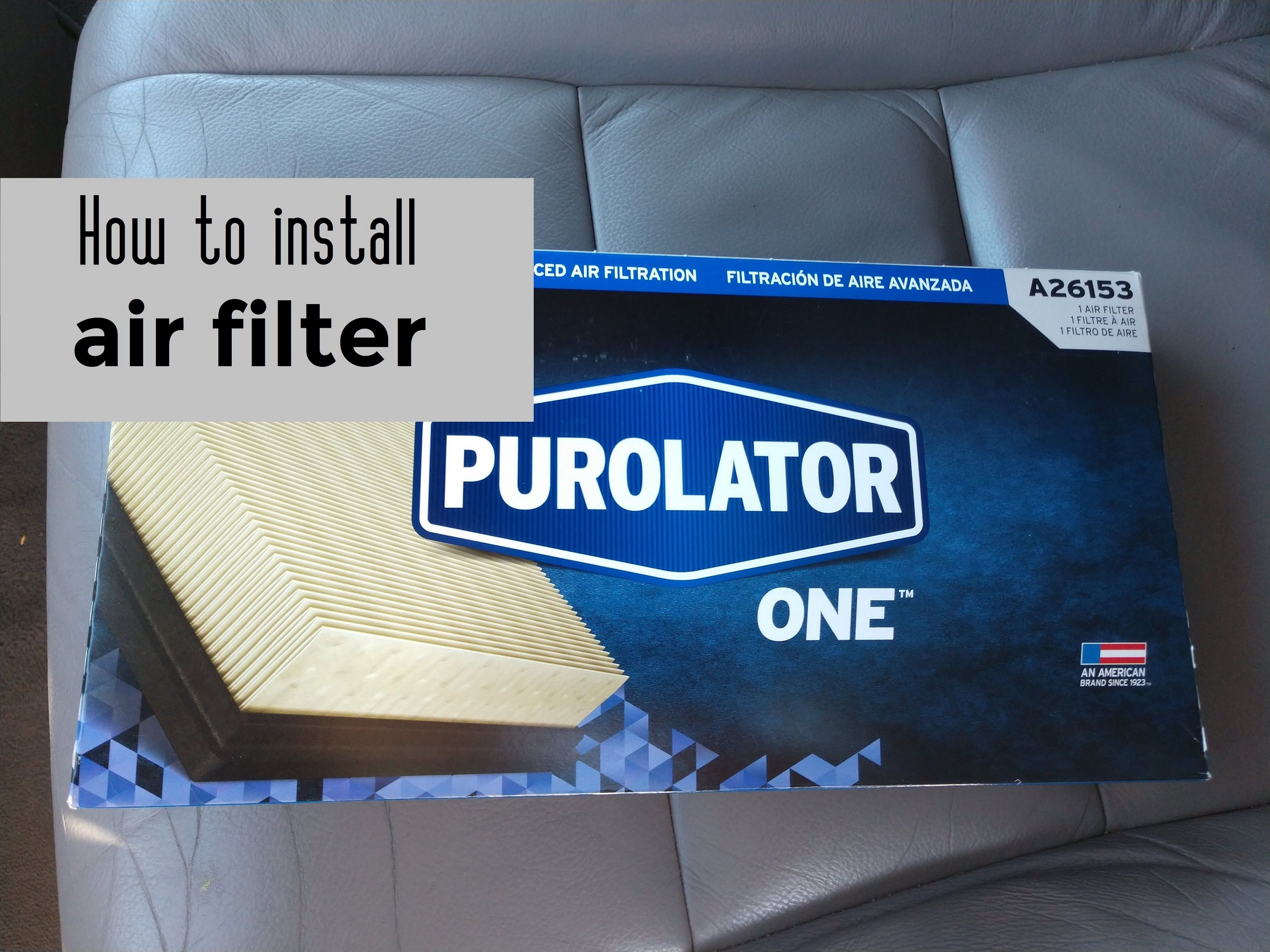 Purolator A26153 PurolatorONE Air Filter