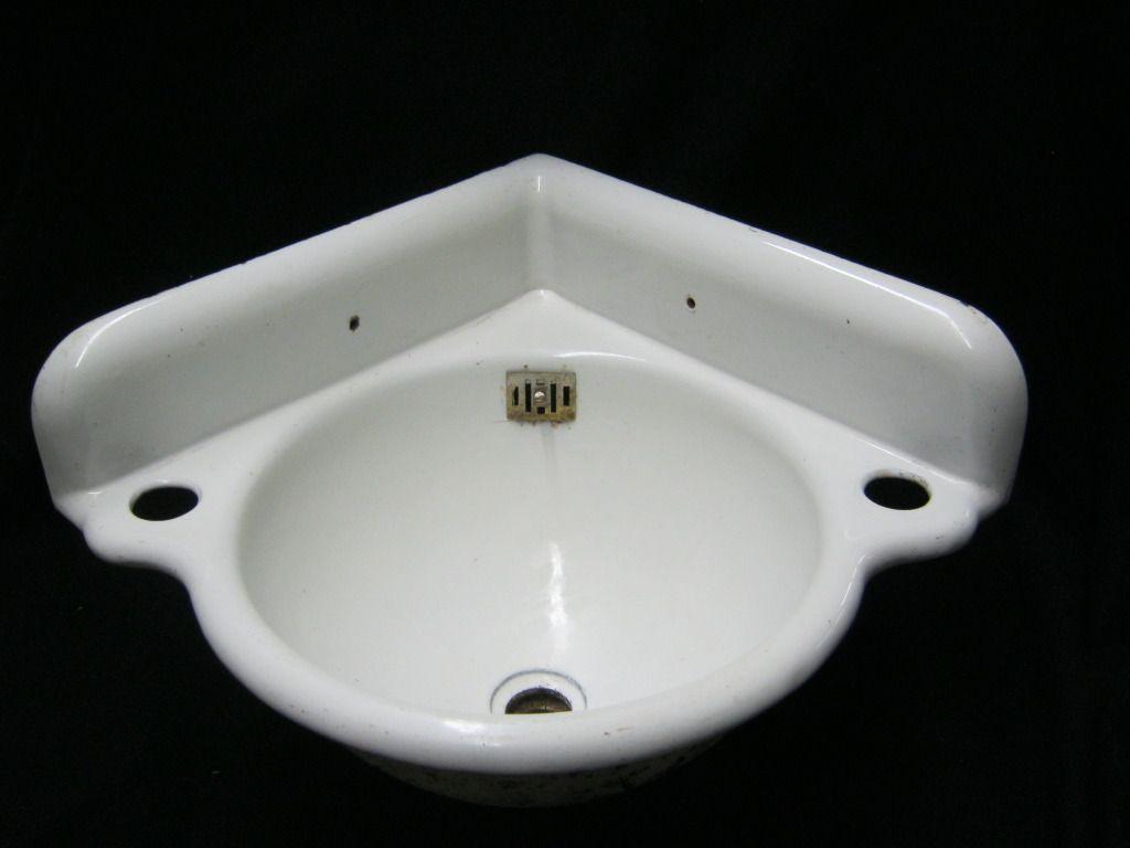 Corner Bathroom Sinks Vintage Antique Small Corner Bathroom Sink Cast Iron Porcelain 820 Inspiration And Des Corner Sink Bathroom Sink Antique Bathroom Sink