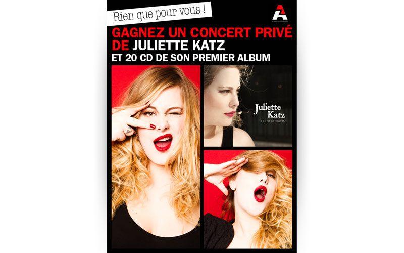 Juliette Katz - Banners Webdesign