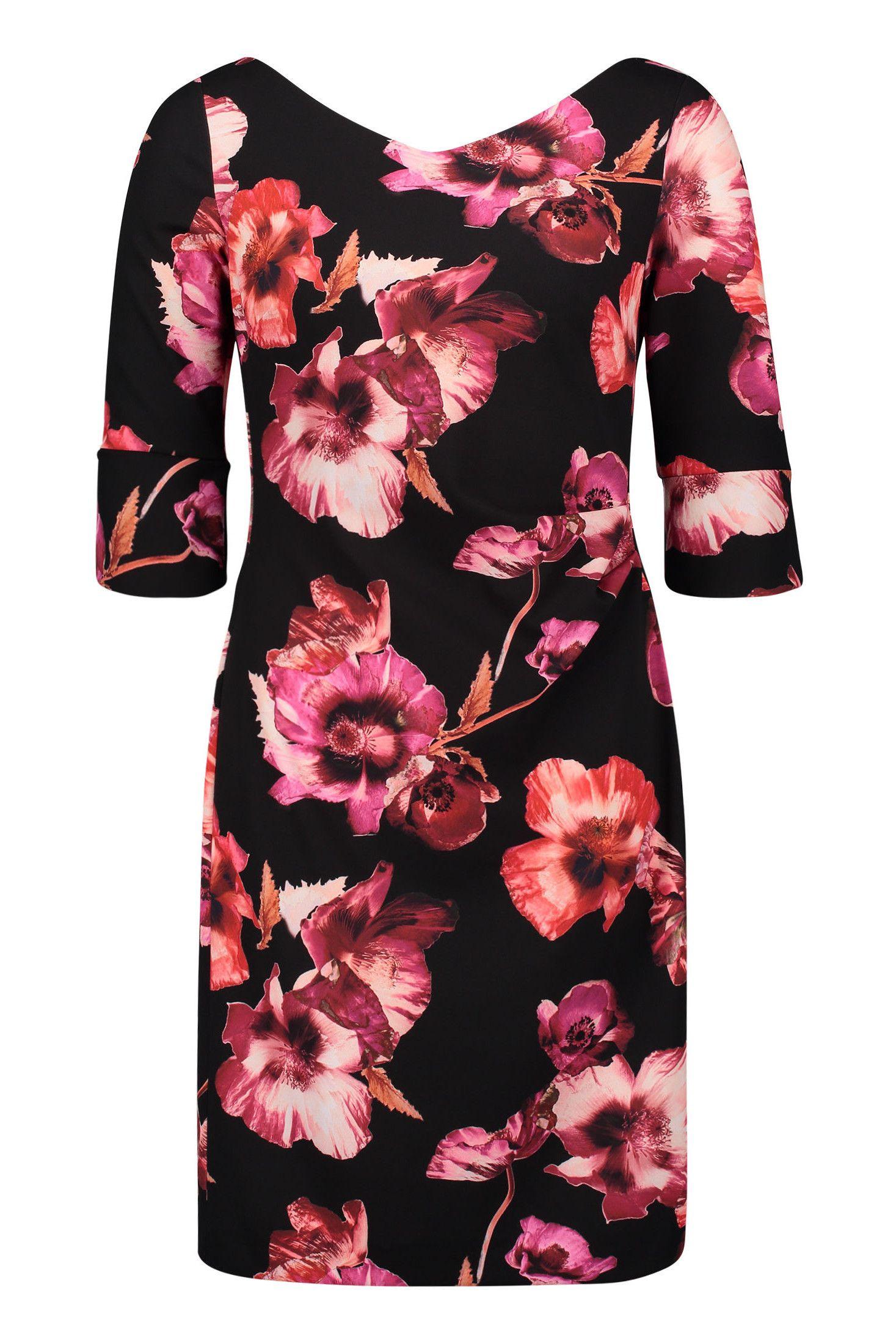 Brautmutter Kleider wie dieses Blütenkleid mit dreiviertel ...