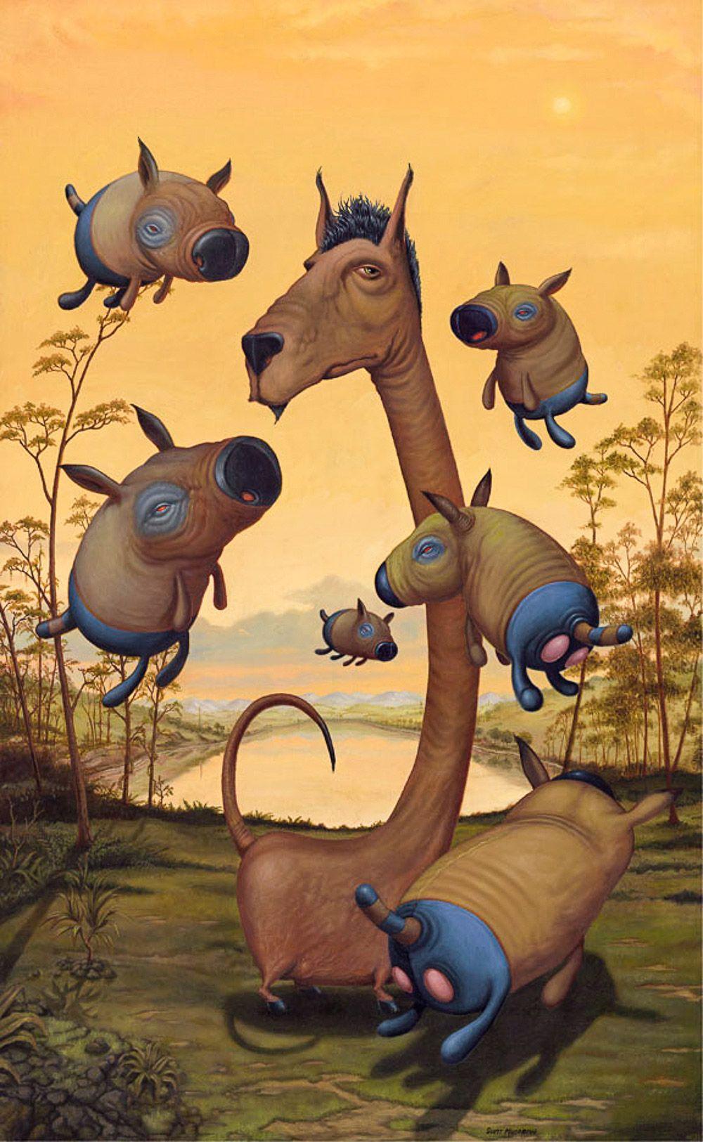 Animais desconhecidos de Scott Musgrove