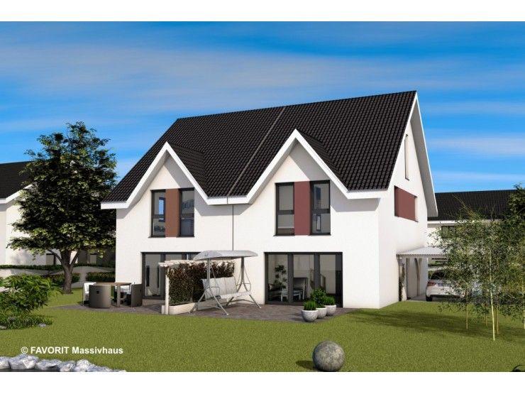 Finesse 109 doppelhaus von bau braune inh sven lehner for Doppelbungalow grundrisse