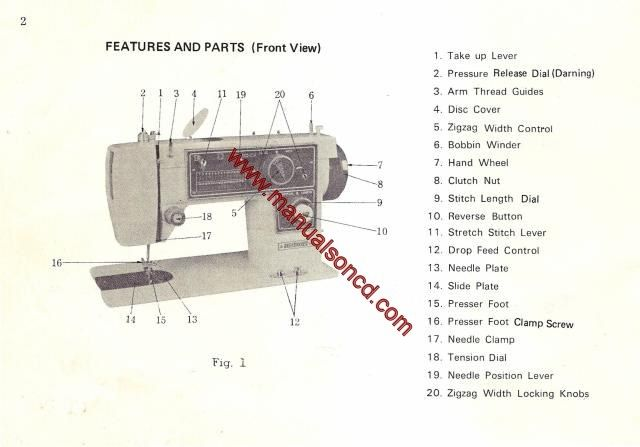 Dressmaker SS 40 Sewing Machine Instruction Manual Sewing Classy How To Thread The Bobbin On A Dressmaker Sewing Machine