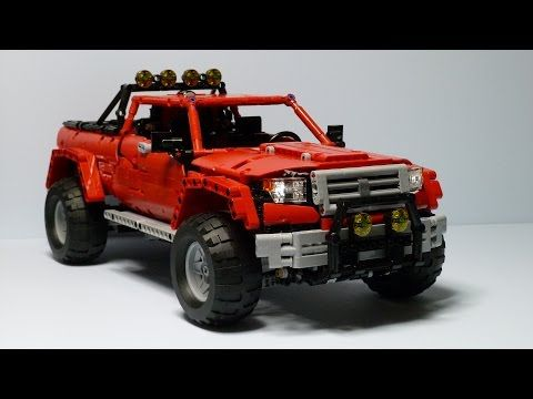 LEGO Technic Off Road Pickup - YouTube