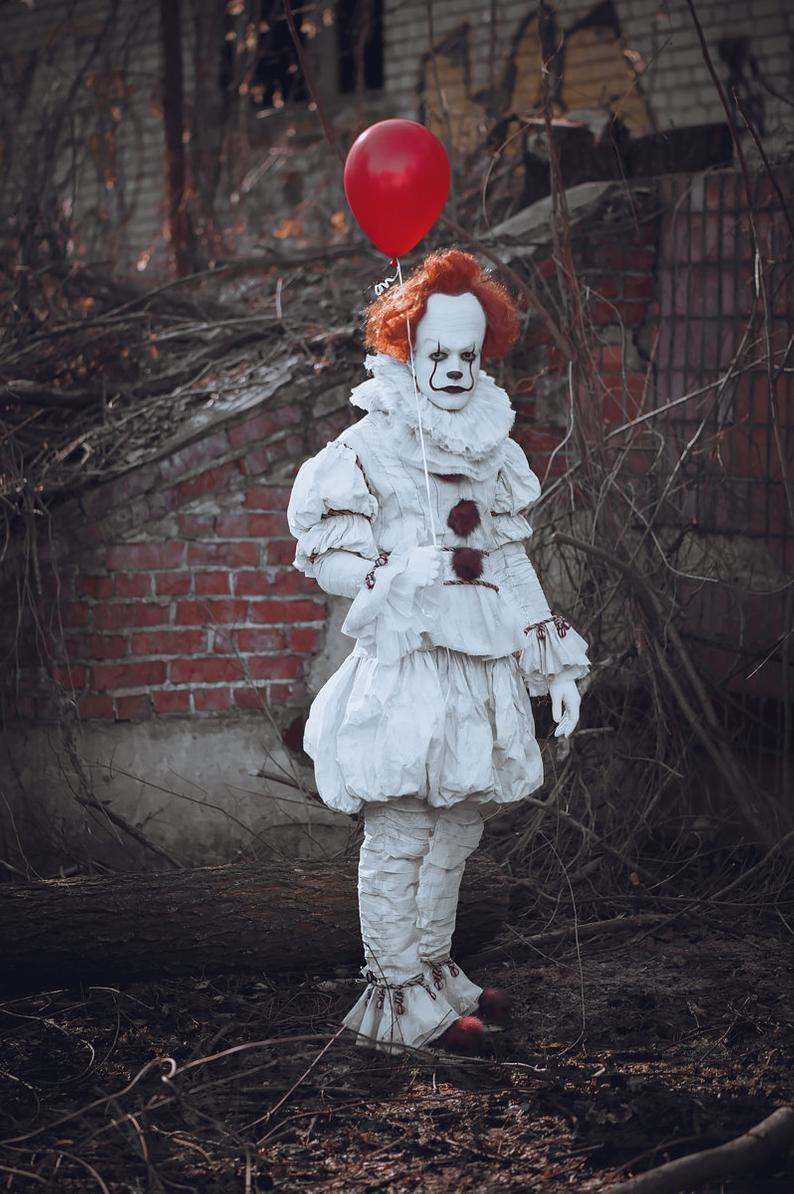 Pennywise Cosplay Clown Cosplay Horror Cosplay Scary Clown ...