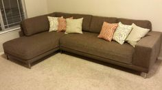My Couch Made From Two Twin Mattresses Diy Sofa Diy Couch Diy Sofa Diy Couch Mattress Couch