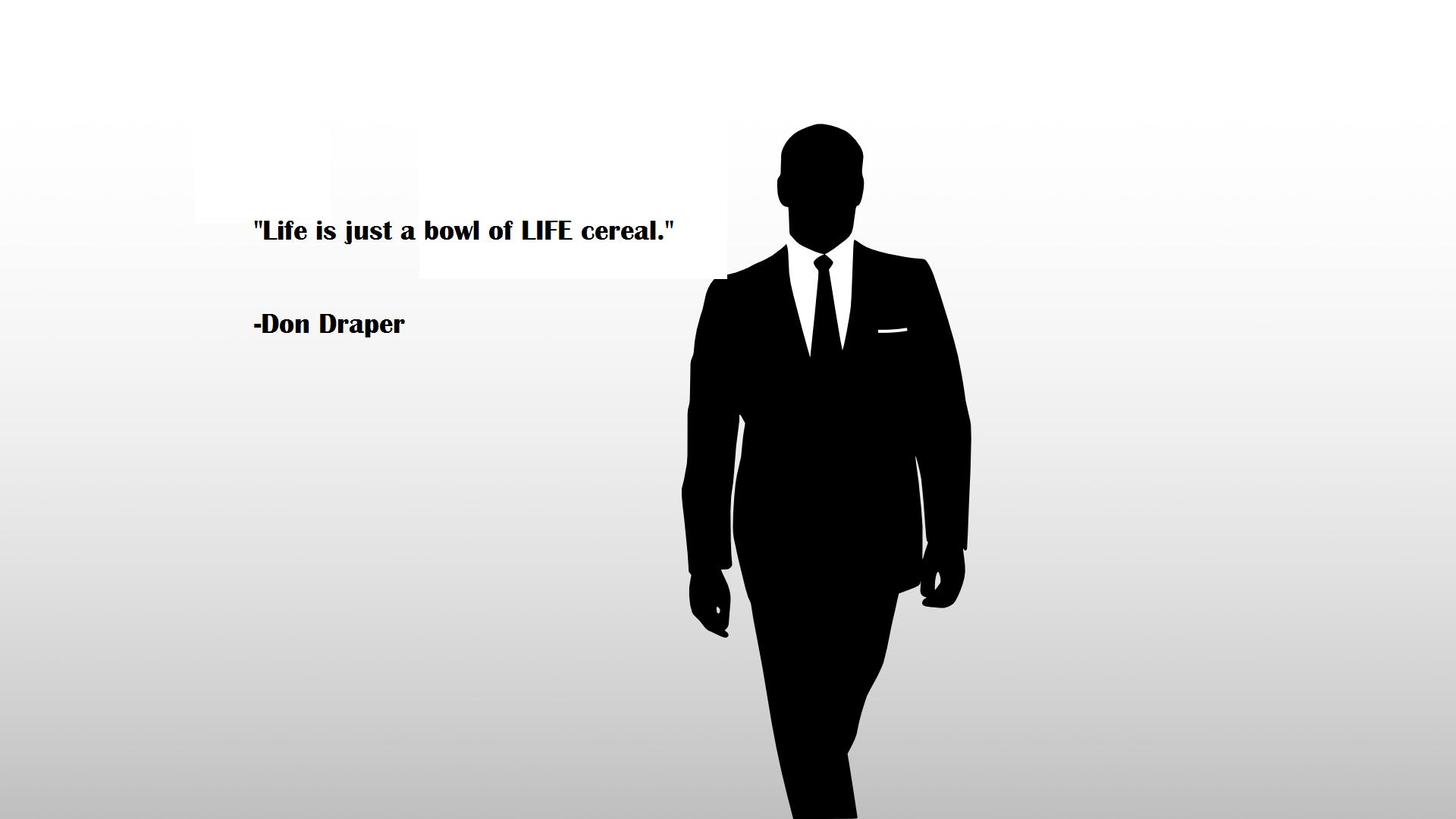 mad men don draper quote - Google Search | Movie | Pinterest