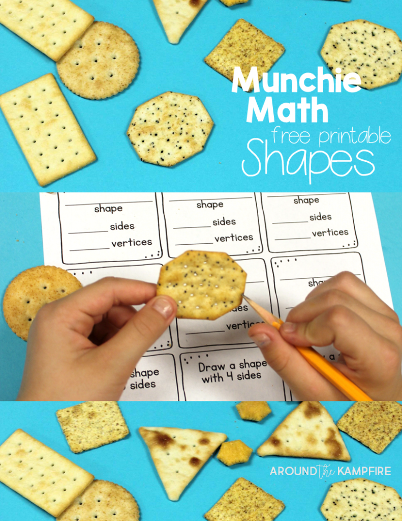 Seriously FUN Ways to Teach Shapes | Math, Free printable worksheets ...