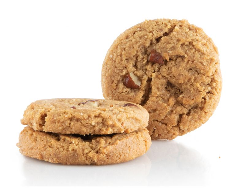 November Is For New Snacks Our 3 New Vegan Cookies A 3 Pack Of Goodness Packs 36 Gms Of Protein On Sale Pe Fresh Baked Cookies Vegan Cookies Rich Cookie