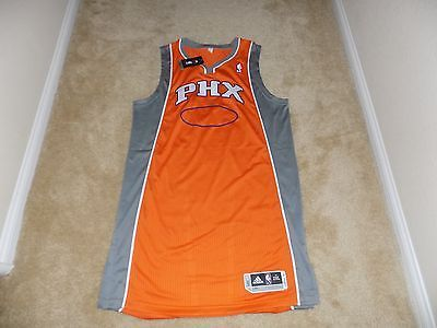 31b7ba06498 AUTHENTIC PHOENIX SUNS PRO CUT BLANK JERSEY SZ 2XL NBA MENS ADIDAS ...
