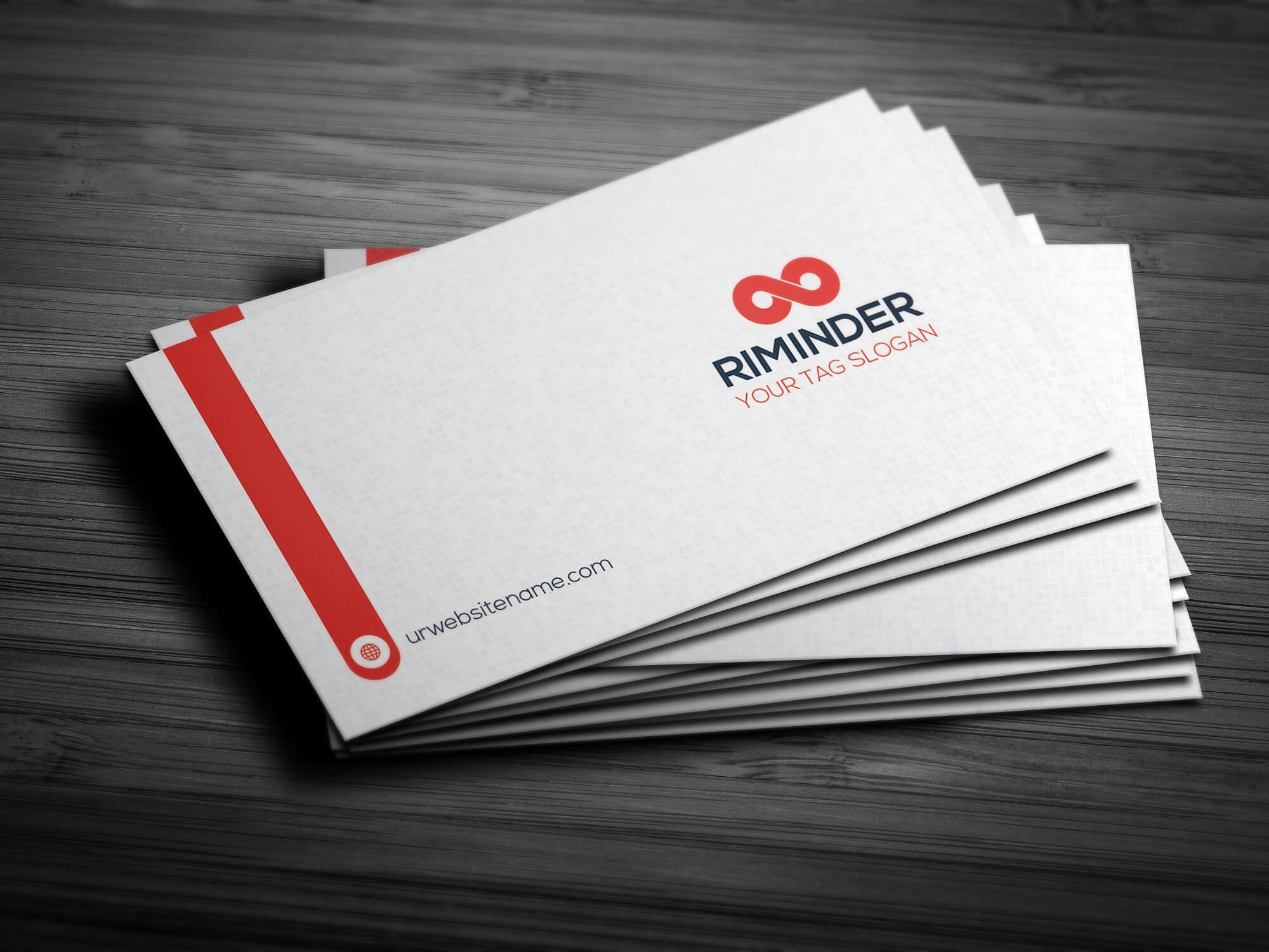 Business Card FilesPSDVariationCard
