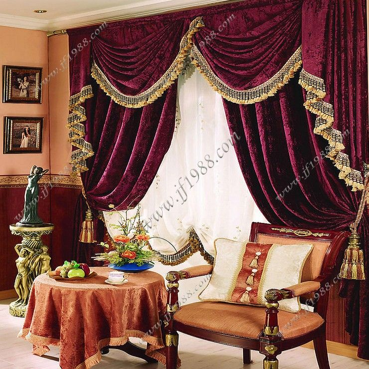 Red Curtains On Sale