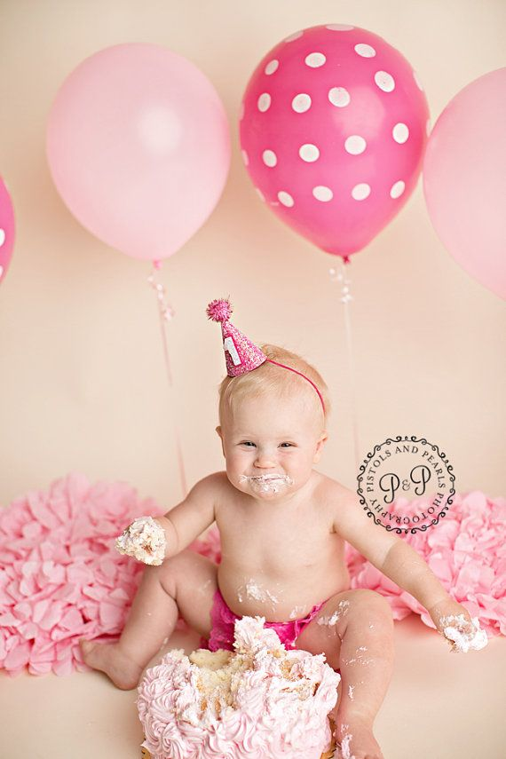 Baby Girl First 1st Anniversaire Tenue Rainbow Tutu Chapeau gâteau Smash séance photo Prop