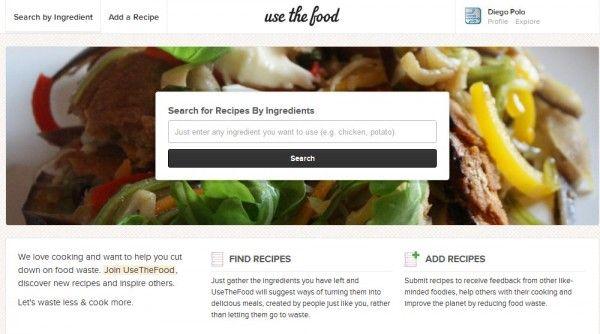 Probamos UseTheFood, comparte tus recetas para ayudar a que no se malgaste más comida