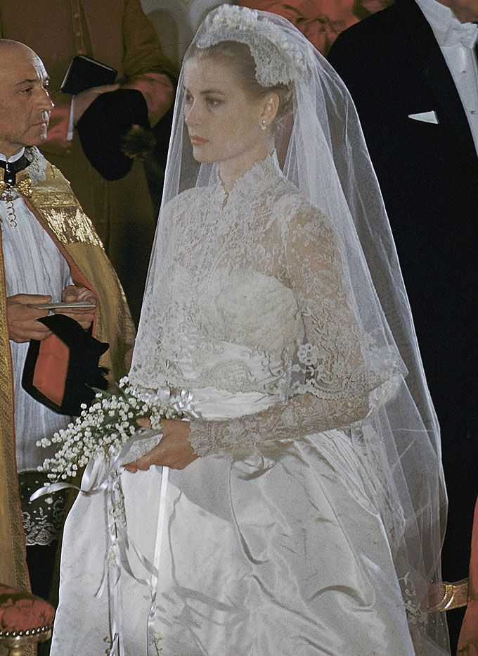 Princess Grace | Veils | Pinterest | Grace kelly wedding, Princess ...