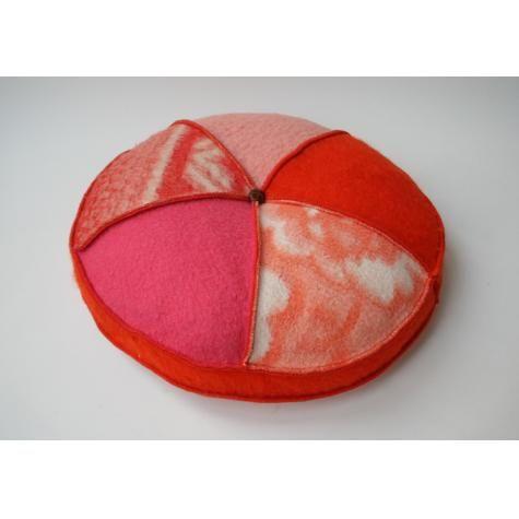 Handmade round pillow