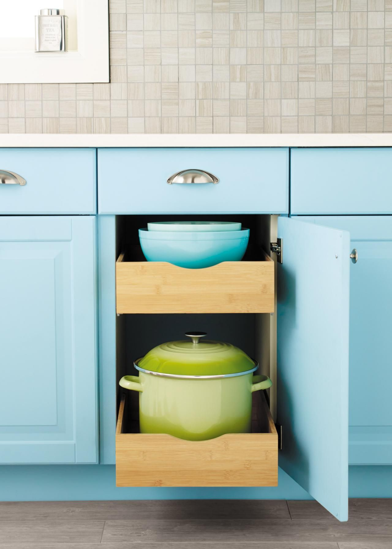 12 Easy Ways to Update Kitchen Cabinets | Hgtv, Container store and ...