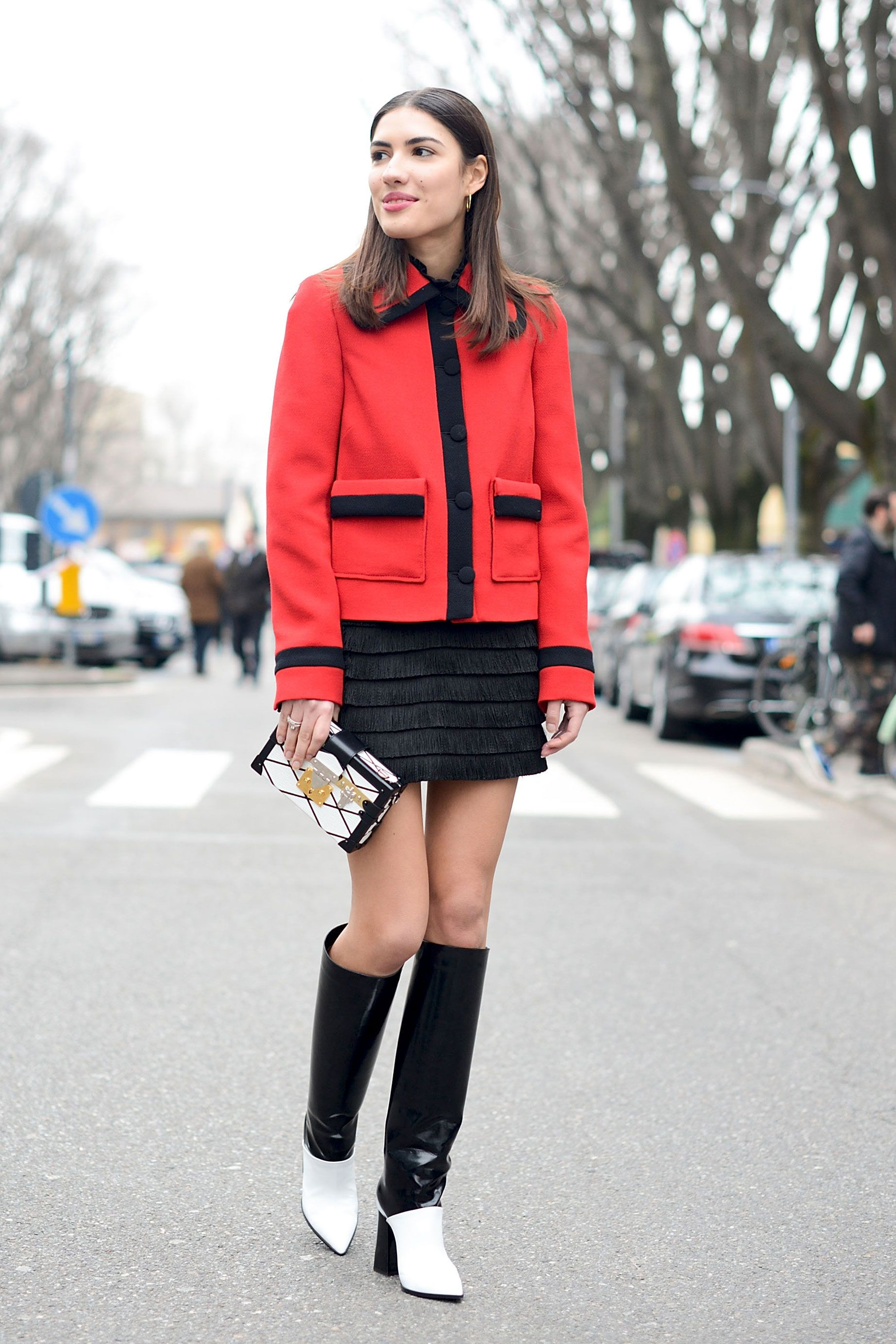 All the Gorgeous Street Styles From Milan Fashion Week  - Cosmopolitan.com
