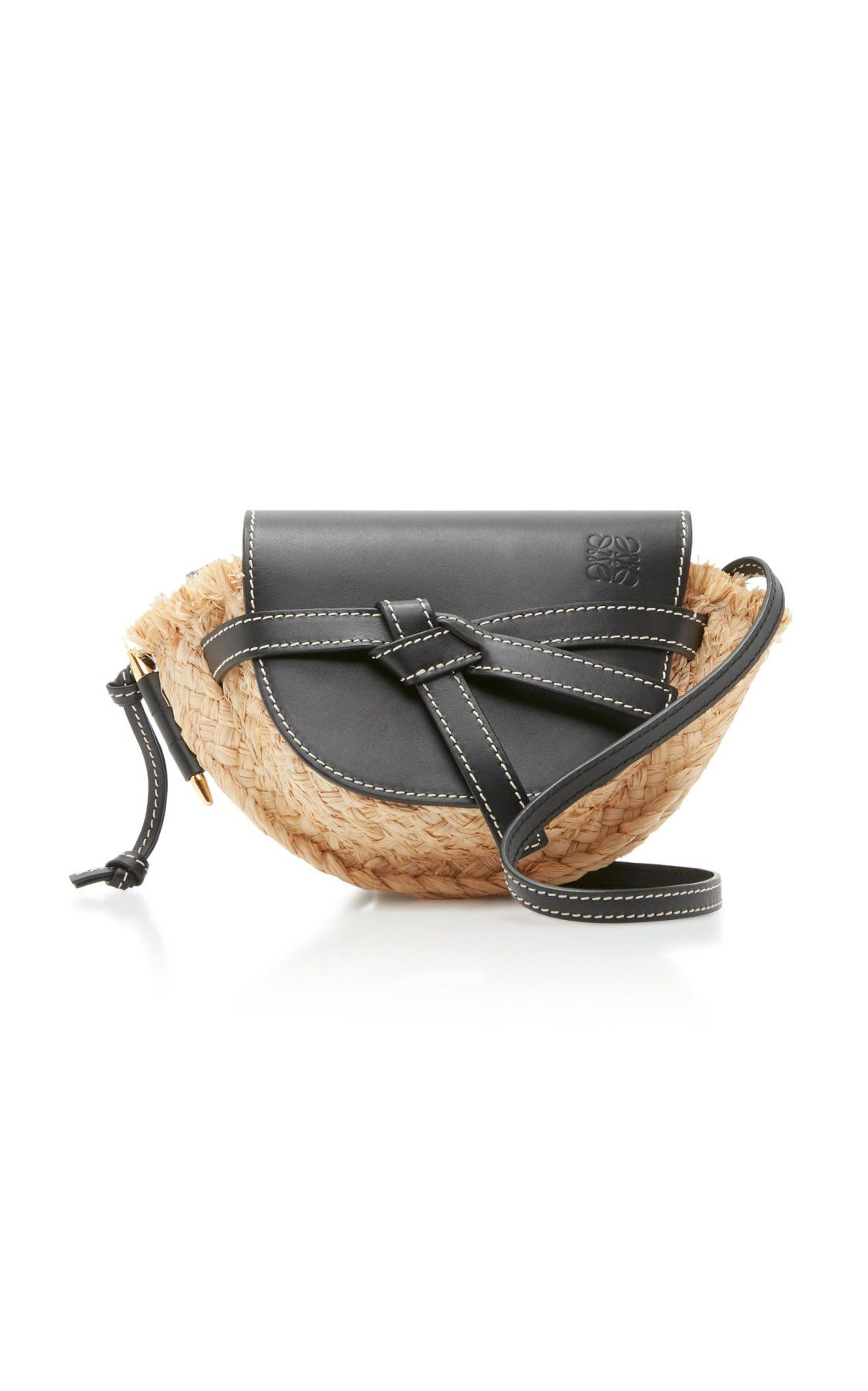 Gate Mini Raffia and Leather Bag by Loewe SS19  dbf3d5af1d901