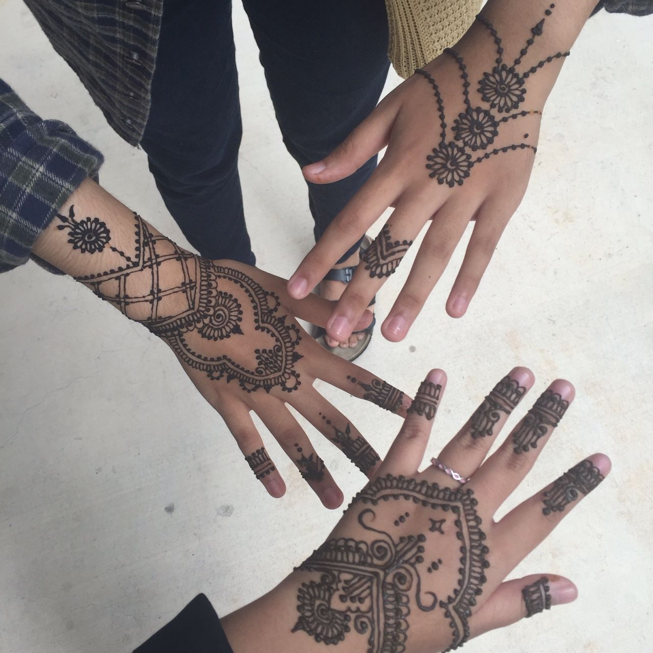 Black Henna Tattoo Tumblr: Hennas, Mehndi And