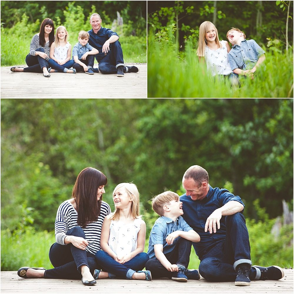 Edmonton family photographer edmonton family photography family of four family photos summer family pictures posing ideas summer photography