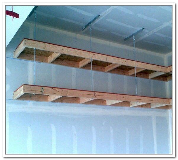 Diy Overhead Garage Storage, Garage