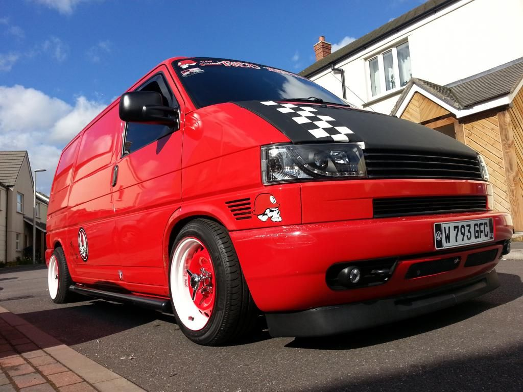 the red baron goes banded steels page 2 vw t4 forum. Black Bedroom Furniture Sets. Home Design Ideas