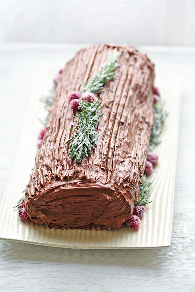 Easy Yule Log Recipe Using Cake Mix | Mighty Mrs