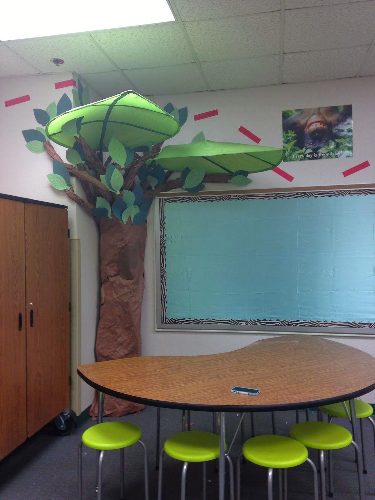 Ikea Tree Adventure Theme For Teacher Classroom